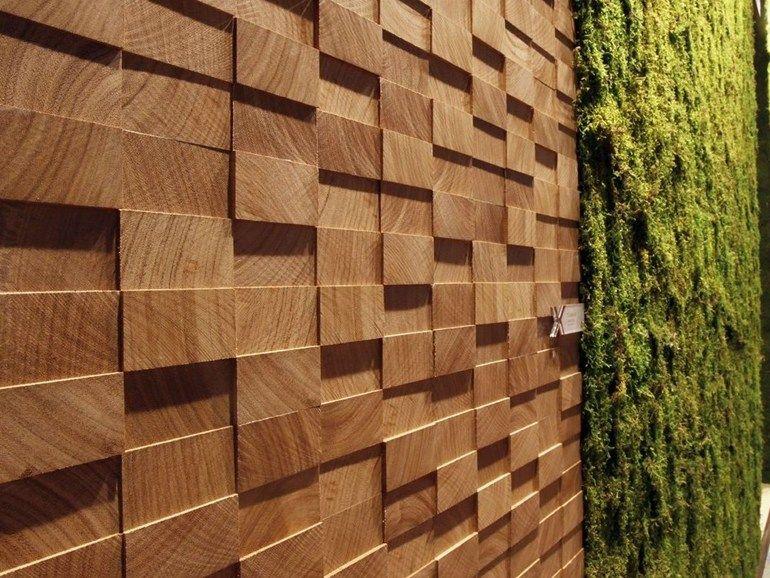 Wooden 3D Wall Panel SAFARI by MENOTTI SPECCHIA PROJECT design Licia Bottegal