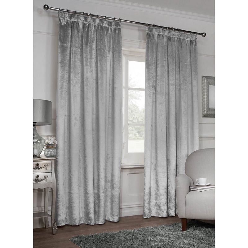 Versailles Crushed Velvet Fully Lined Curtains 90 X 90 Inch Available In A Range Of Sizes Colours They Re The Ideal Velvet Curtains Curtains Lined Curtains
