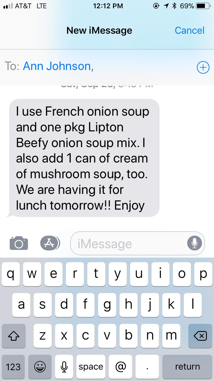 Pin by Vicki Bull on Recipes Creamed mushrooms, Onion