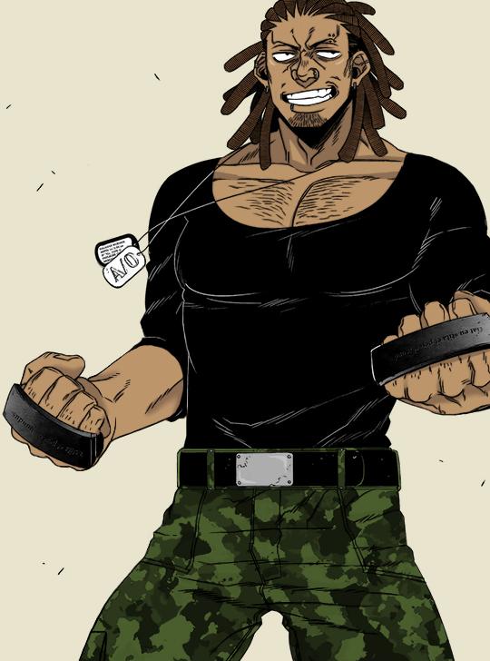 Galahad Woehor Gangsta anime, Gangsta, Black and brown