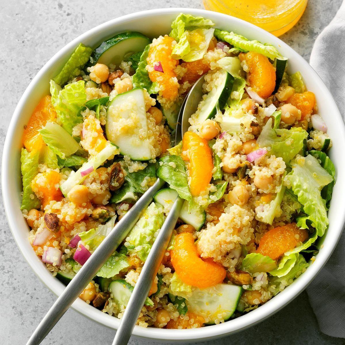 Orange-Pistachio Quinoa Salad -  Orange-Pistachio Quinoa Salad  -