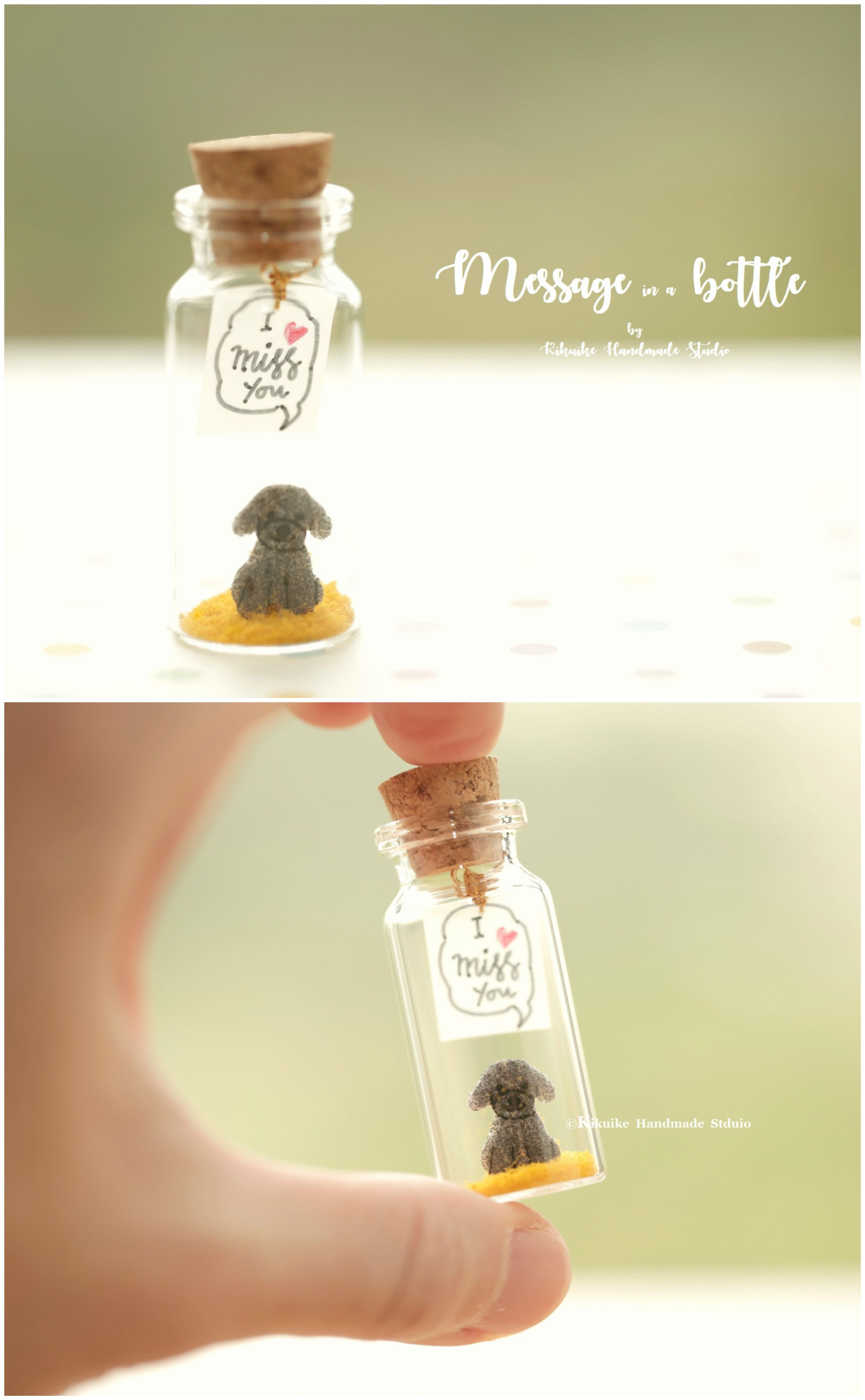 I miss youtiny message in a bottleminiaturespersonalised gift i miss youtiny message in a bottleminiaturespersonalised giftlove negle Image collections