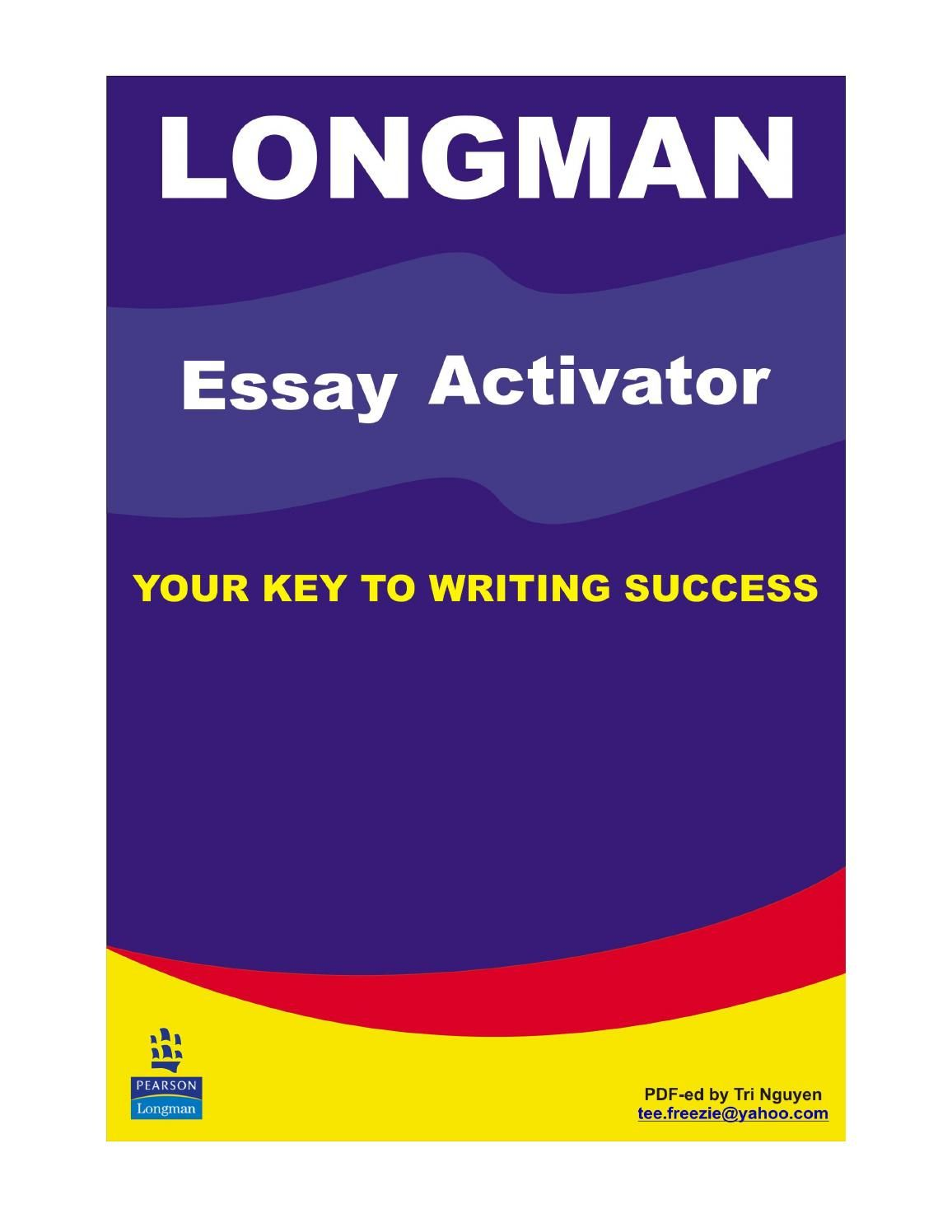 longman essay activator  learn english  pinterest  learn english  longman essay activator different languages learn english english language  worksheets learning english