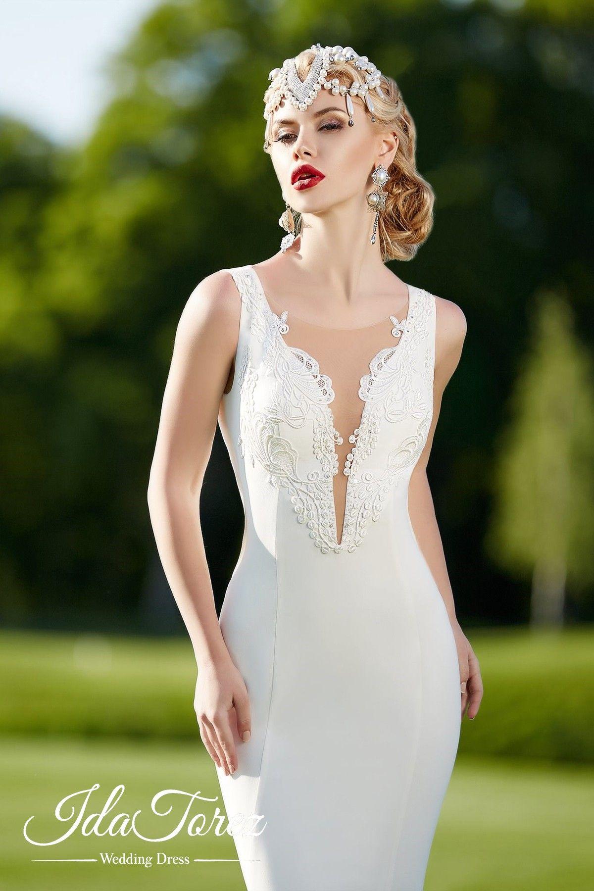Usd 929 Trumpet Mermaid Train Stretch Crepe Wedding Dress 01015 Wedding Dresses Atlanta Wedding Dresses Applique Wedding Dress [ 1800 x 1200 Pixel ]