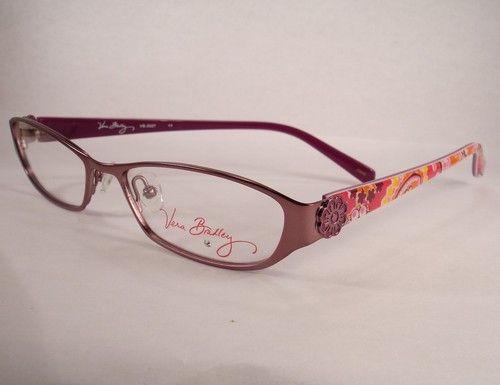 vera bradley 3027 raspberry eyeglass eyewear women frames glasses designer ebay - Ebay Eyeglasses Frames