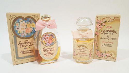 Vintage Avon California Perfume Bottle