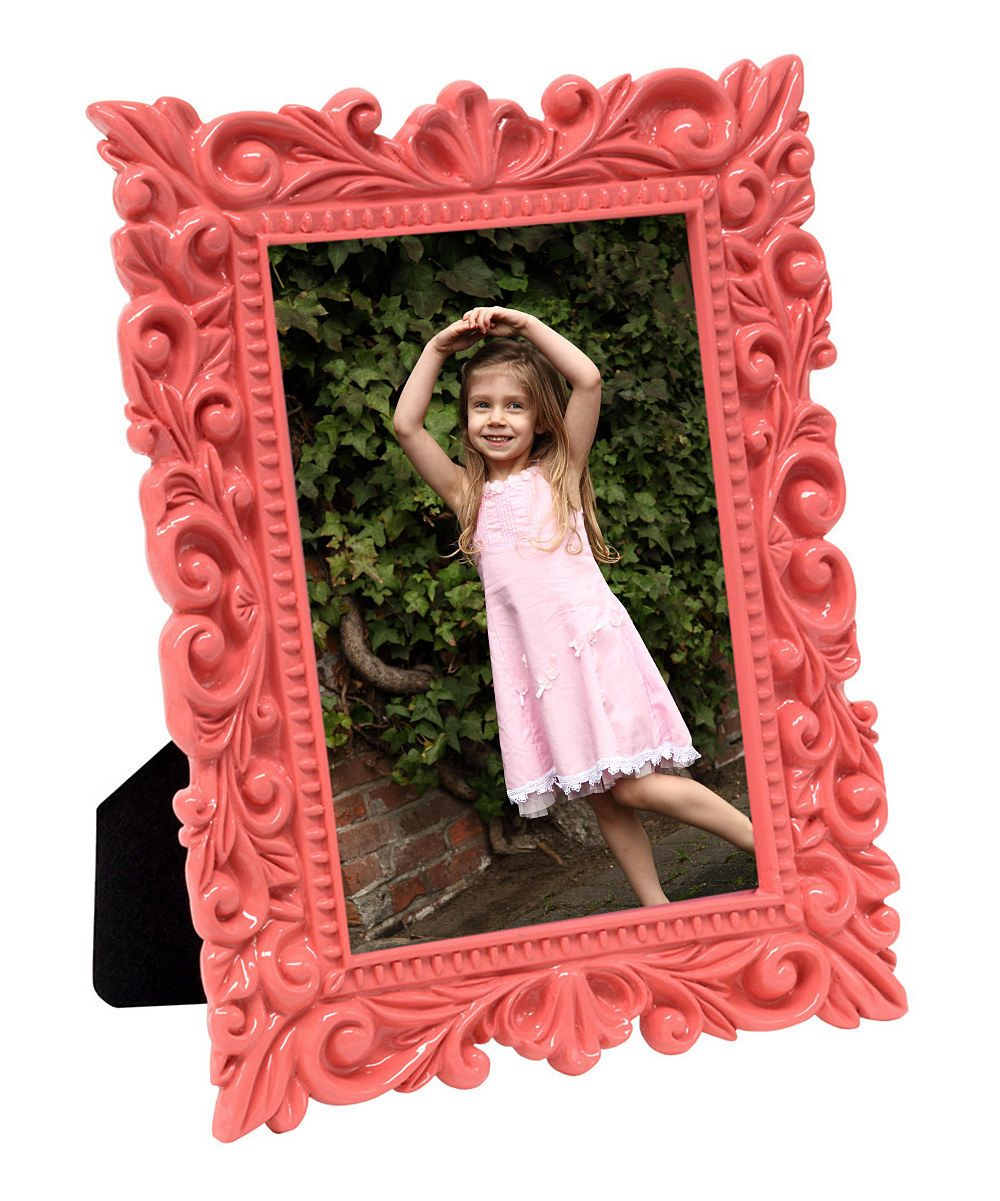 Look at this Pink Vine Photo Frame on #zulily today!