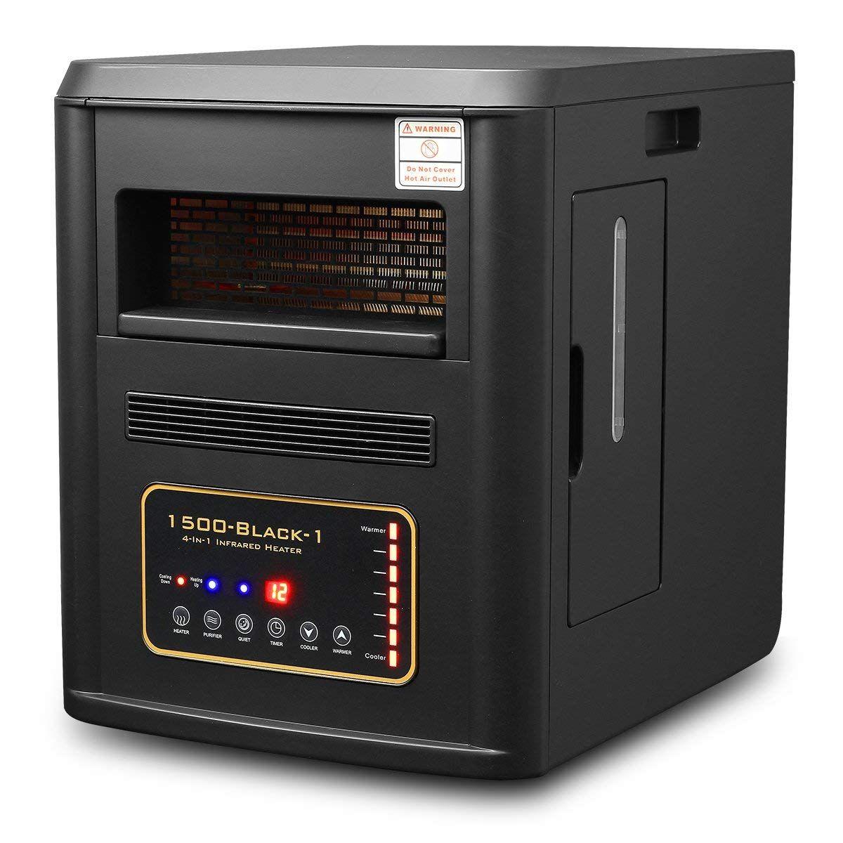 1500W Quartz Infrared Heater Humidifier Plasma Inverter