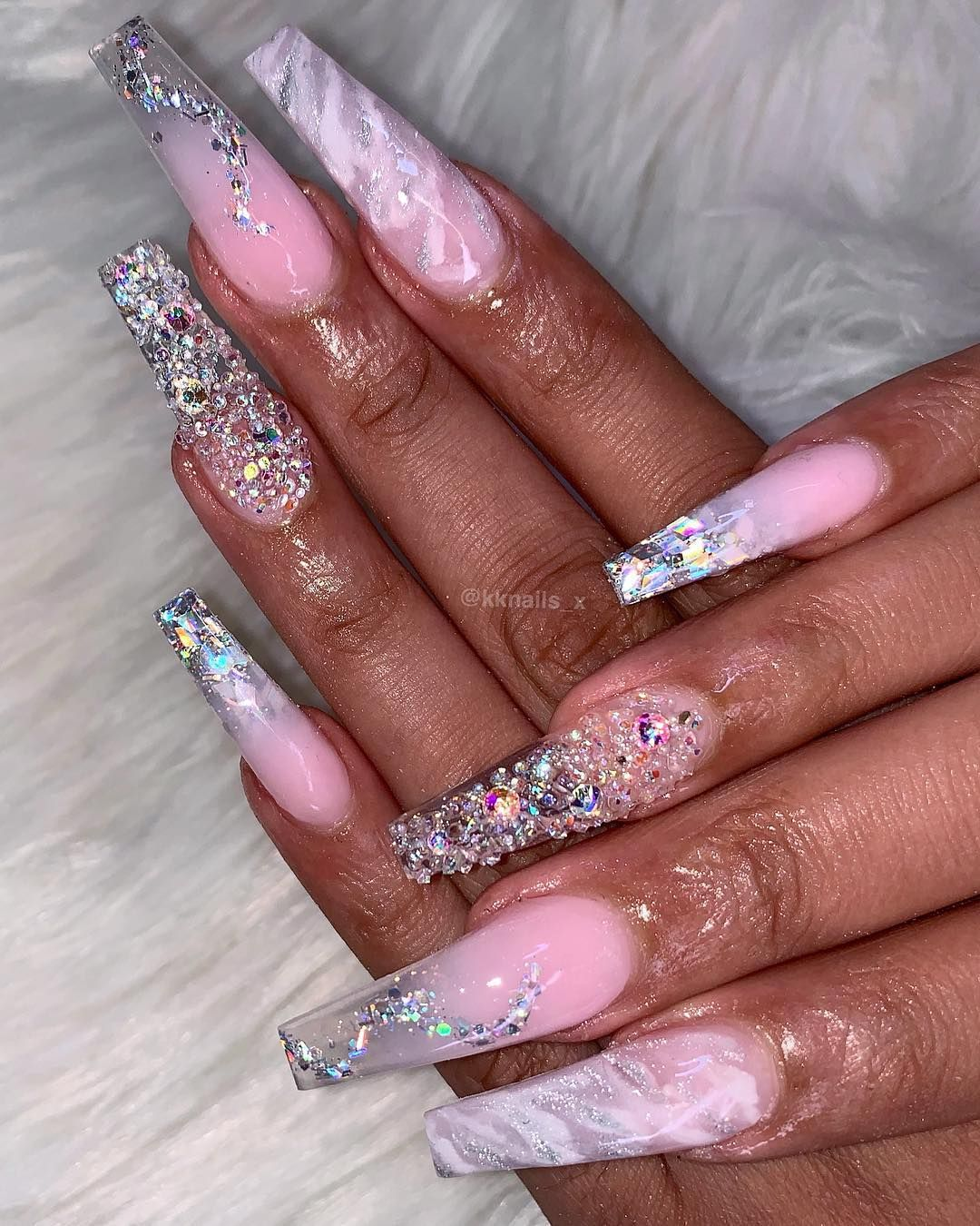 Follow Theylovesalma For More Simple Acrylic Nails Fancy Nails Glam Nails