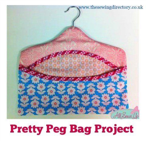 Free peg bag pattern using fat quarters | Projects to Try | Pinterest