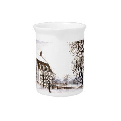 Winter in New England Drink Pitcher - winter gifts style special ...