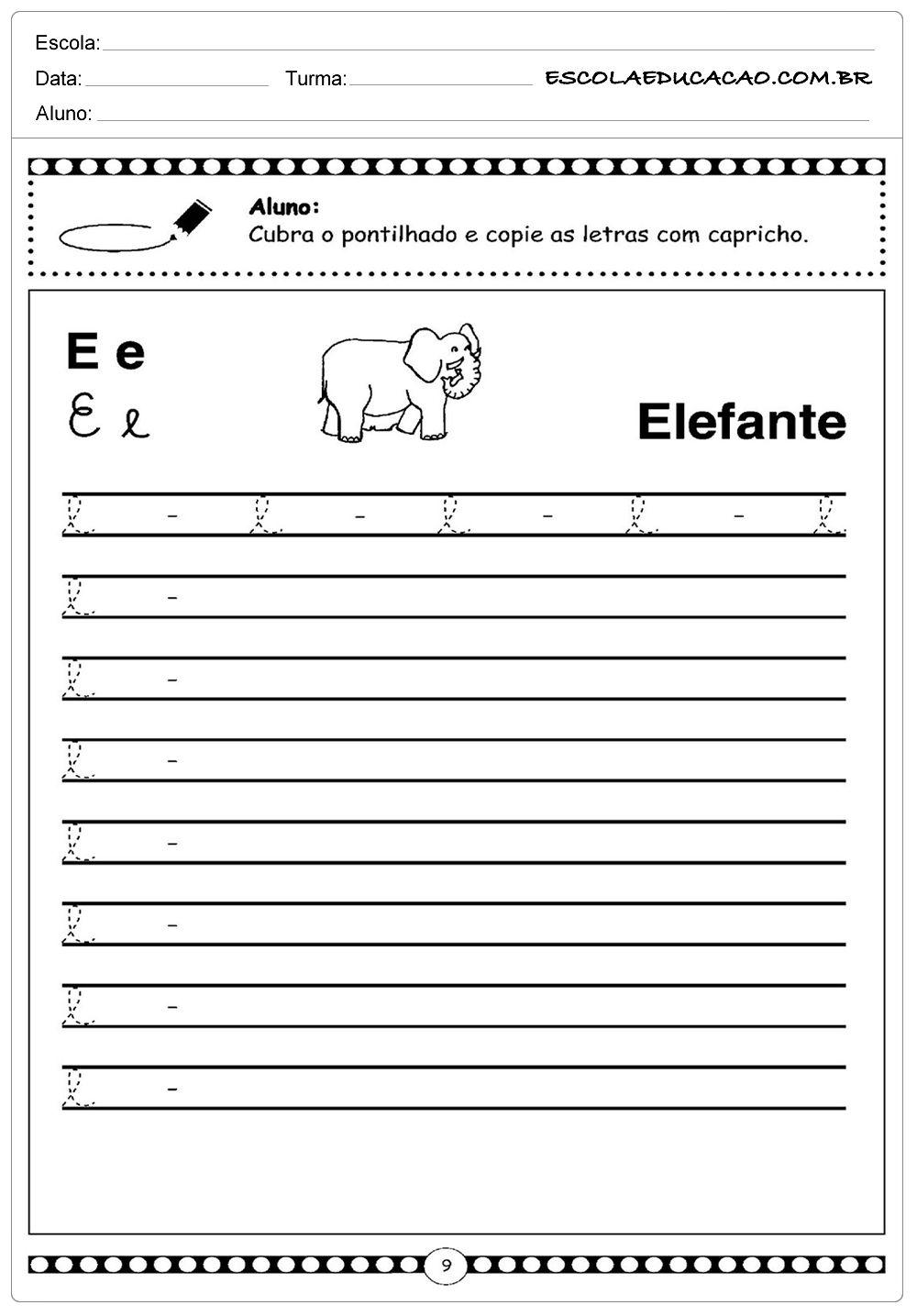 Alfabeto Cursivo Com Imagens Alfabeto Cursivo Cursivo Atividades