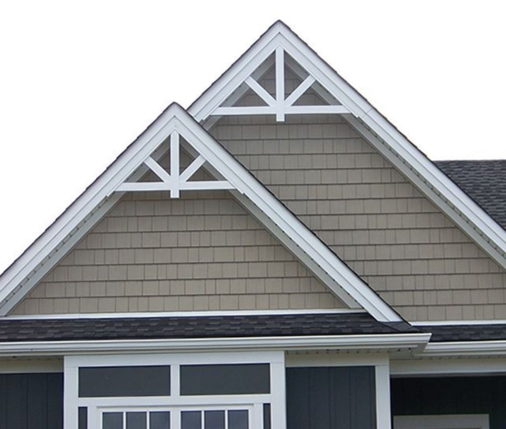 Decorative Gable Siding: Pin By Edward Griffin Construction & Stucco Remediation