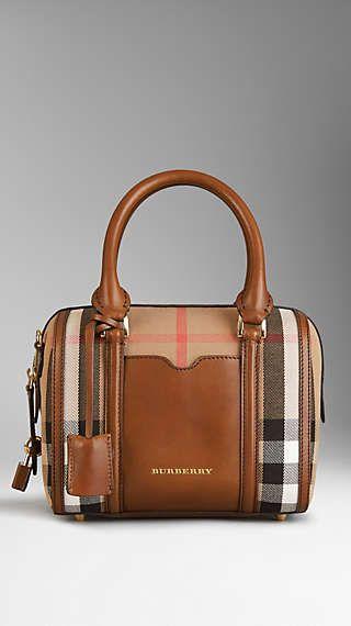 37d482214fc7 Small Sartorial House Check Bowling Bag