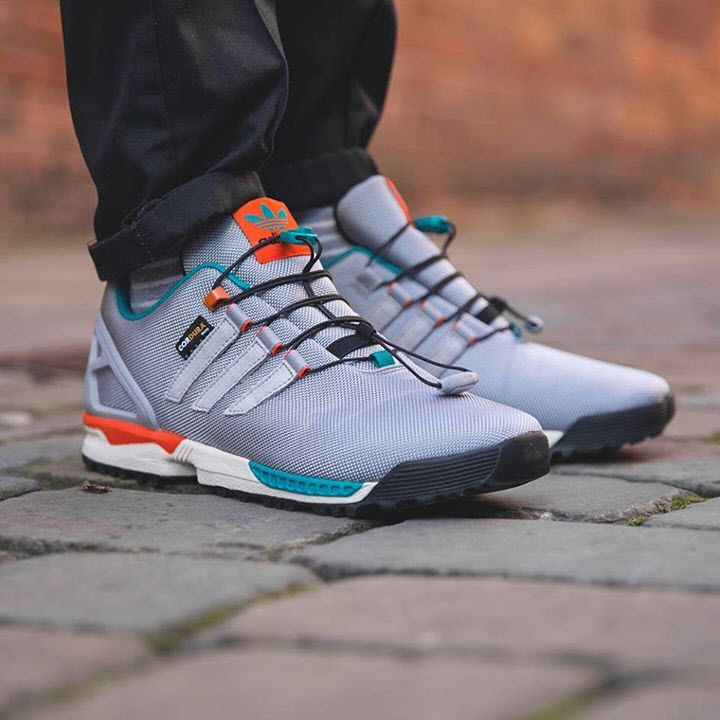 Adidas Originals Zx Flux Winter Sneakers Men Snicker Shoes Latest Sneakers
