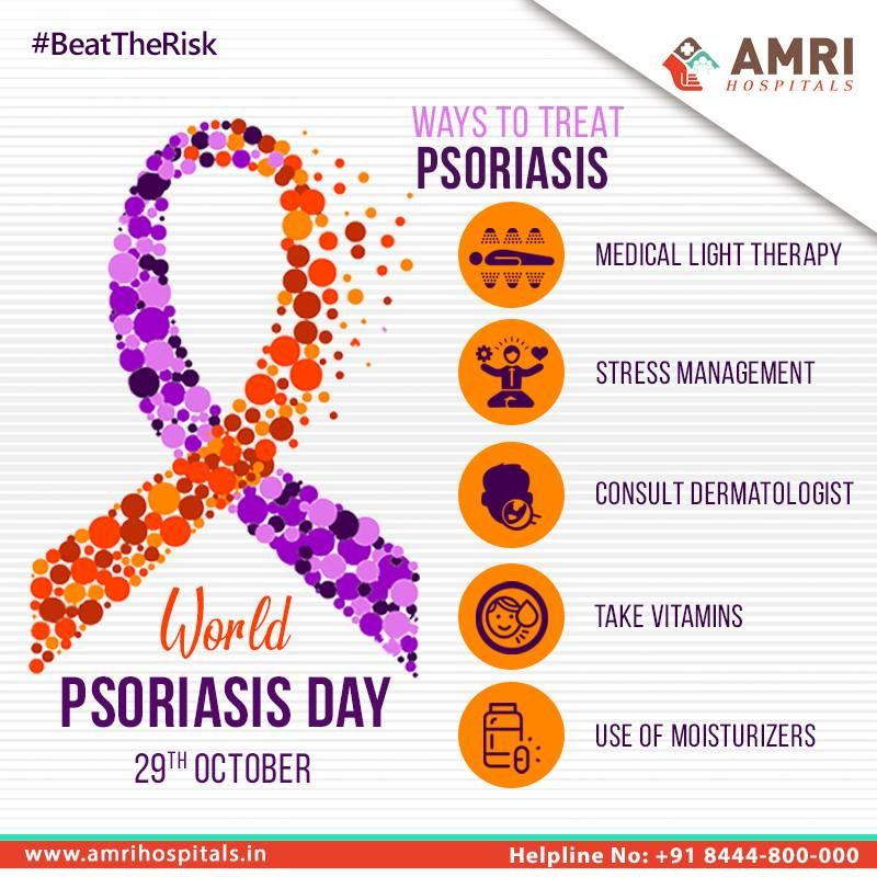 World Psoriasis Day is observed on 29th of October every