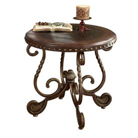 Pleasing Signature Design By Ashley Rafferty Round End Table T382 6 Best Image Libraries Weasiibadanjobscom