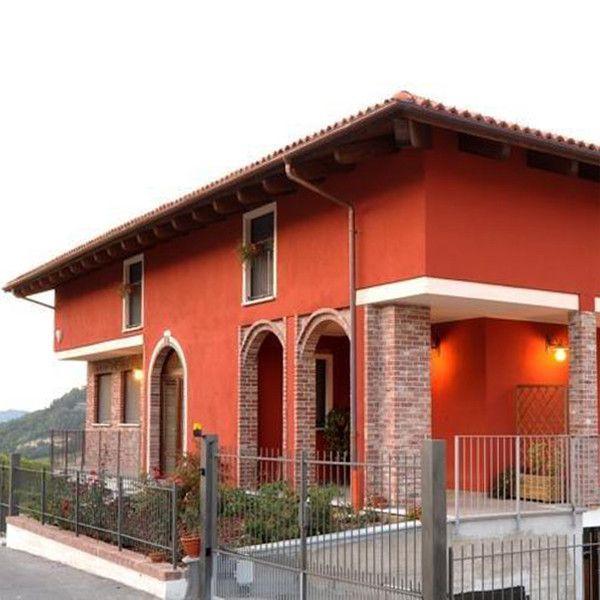 Risultati immagini per colore arancione per pittura esterna casa ringhiere pinterest searching - Colore pittura casa ...