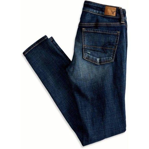 American Eagle Outfitters Jegging Jeans Jeans De Moda Moda De Ropa Pantalones De Mezclilla
