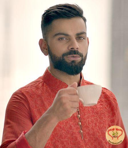 New Beginnings Has Eminent Indian Cricketer Virat Kohli As The Brand Ambassador For Manyavar Virat Kohli Hairstyle Virat Kohli Beard Virat Kohli And Anushka