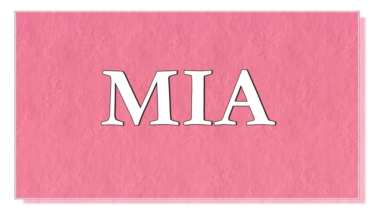 Mia Name Meaning In Spanish - gaurani almightywind info
