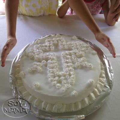 pasteles de mi primera comunion