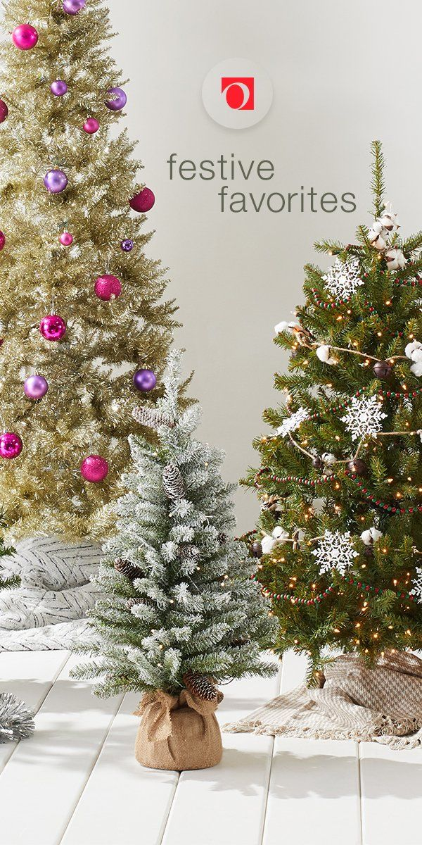 Brighten your holiday season with a host of fresh and festive Christmas trees from Overstock's holiday shop, where you'll find excellent deals on quality holiday home goods along with Free Shipping on EVERYTHING!* Don't let the merry season pass you by, get your home holiday-ready with help from Overstock's massive holiday decor collection. #Christmastree #homedecor #holiday #overstock