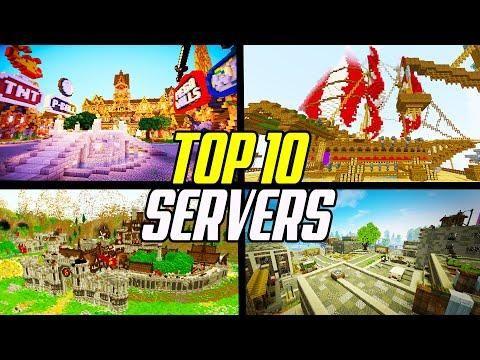 Top 10 Best Minecraft Servers 1 16 2020 Survival Skyblock Factions En 2020 Cosas