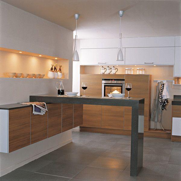 Modular Kitchen Cabinet Color Combinations #Cabinet_Colors
