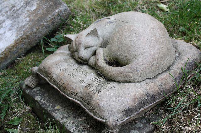 Cat Headstone, Dog Memorial Stones