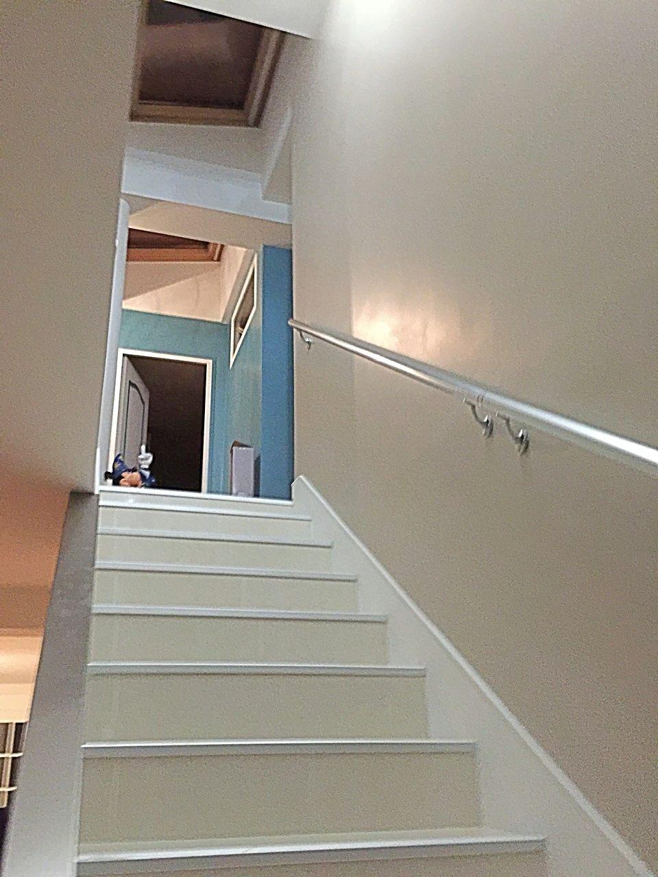 Rénovation d'une cage d'escalier / Changement des nez de marche et de la main courante