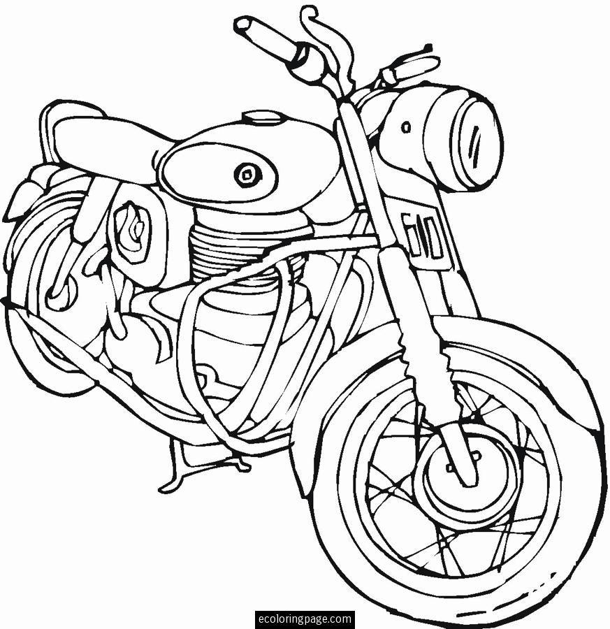 Harley-Davidson Coloring Pages to Print | harley-davidson-motorcycle ...