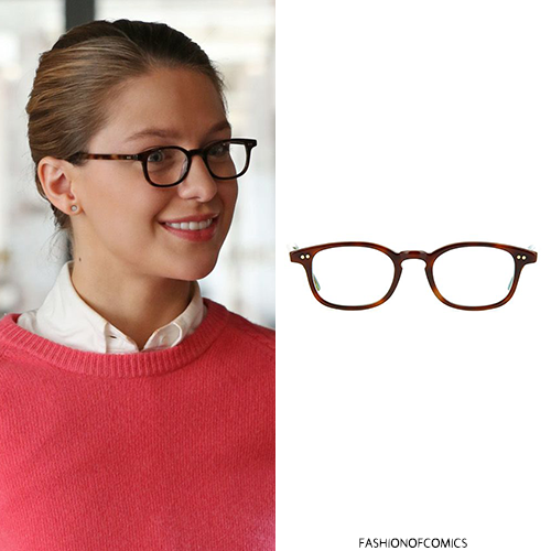 Comic Book Fashion Who Melissa Benoist As Kara Danvers Kara Zor El Kara Melissa Benoist Glasses Outfit