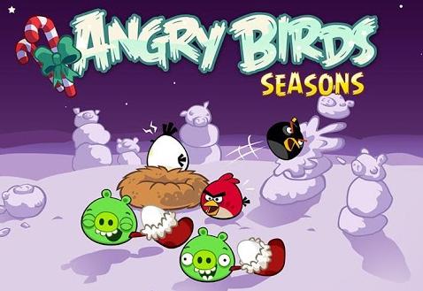 Winter Wonderham! Angry birds seasons, Angry birds