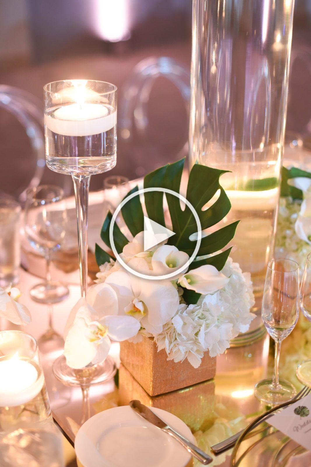 Tropical Coastal Wedding at the 1 Hotel South Beach, Yves Saint Laurent YSL Ivor...