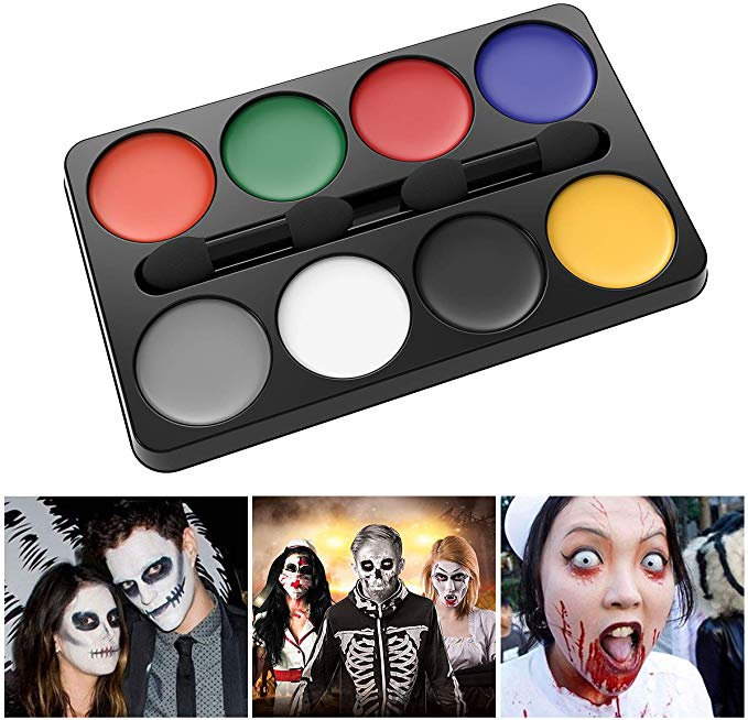 Unomor Halloween Makeup Kit Face Painting for