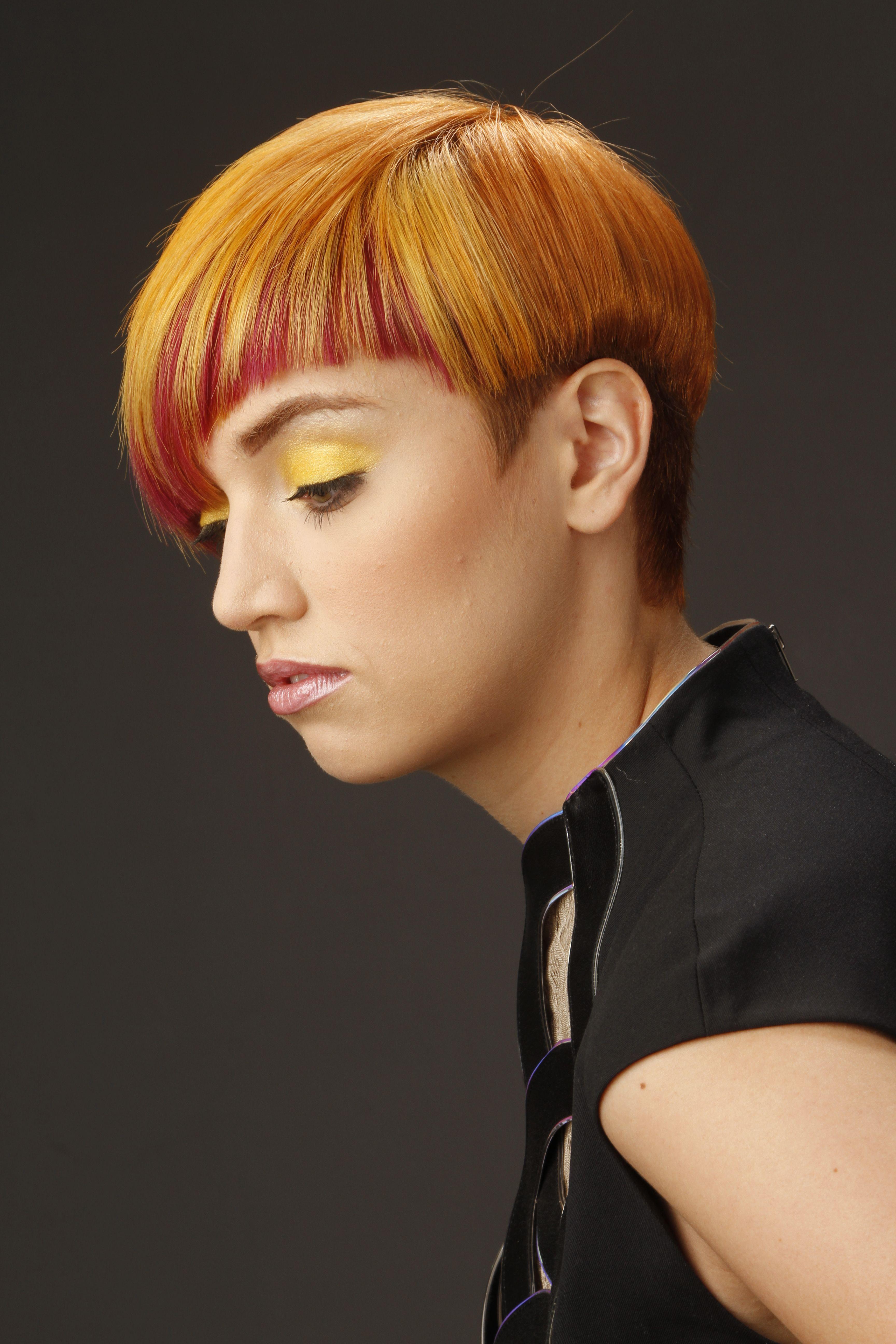 Color by Michelle Azouz #orange #red #atelies113