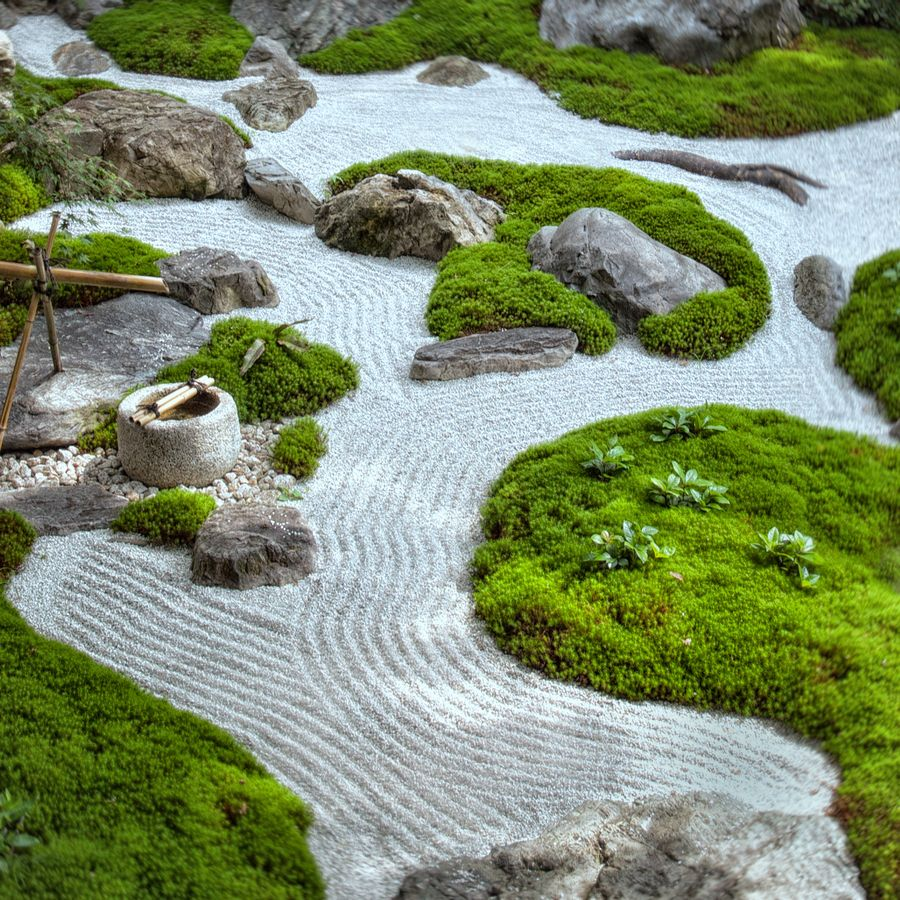 Japanese zen gardens top view - 30 Magical Zen Gardens