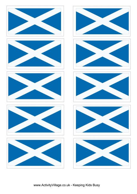 Scotland Flag Printable Flag Printable Flag Coloring Pages