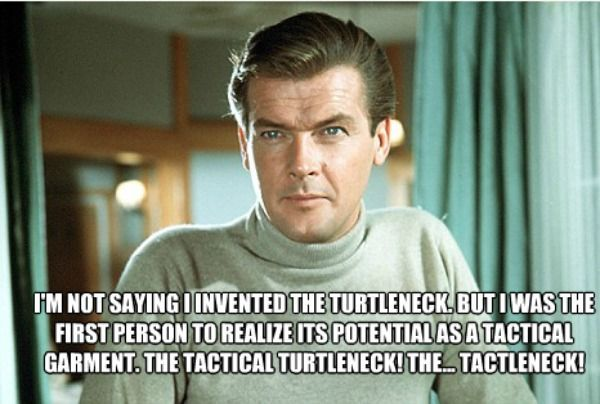 Archer Quotes Work Really Well With James Bond Stills