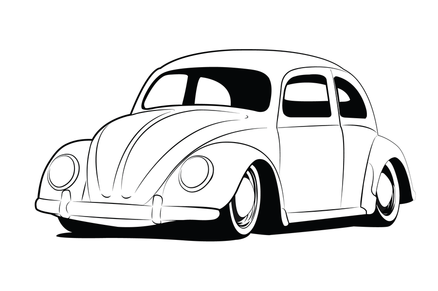 Vw Beetle Lineart By GabeRios On DeviantART