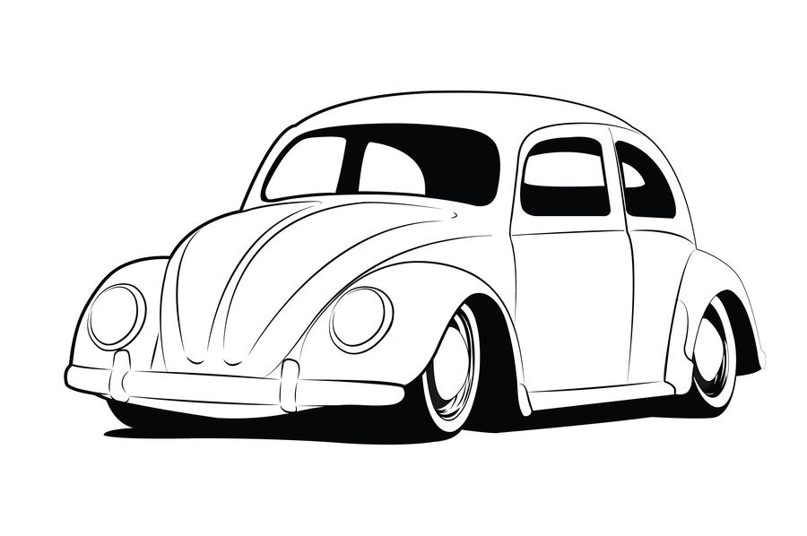 Bug print | Vw art | Pinterest | Printing, Volkswagen and Beetles