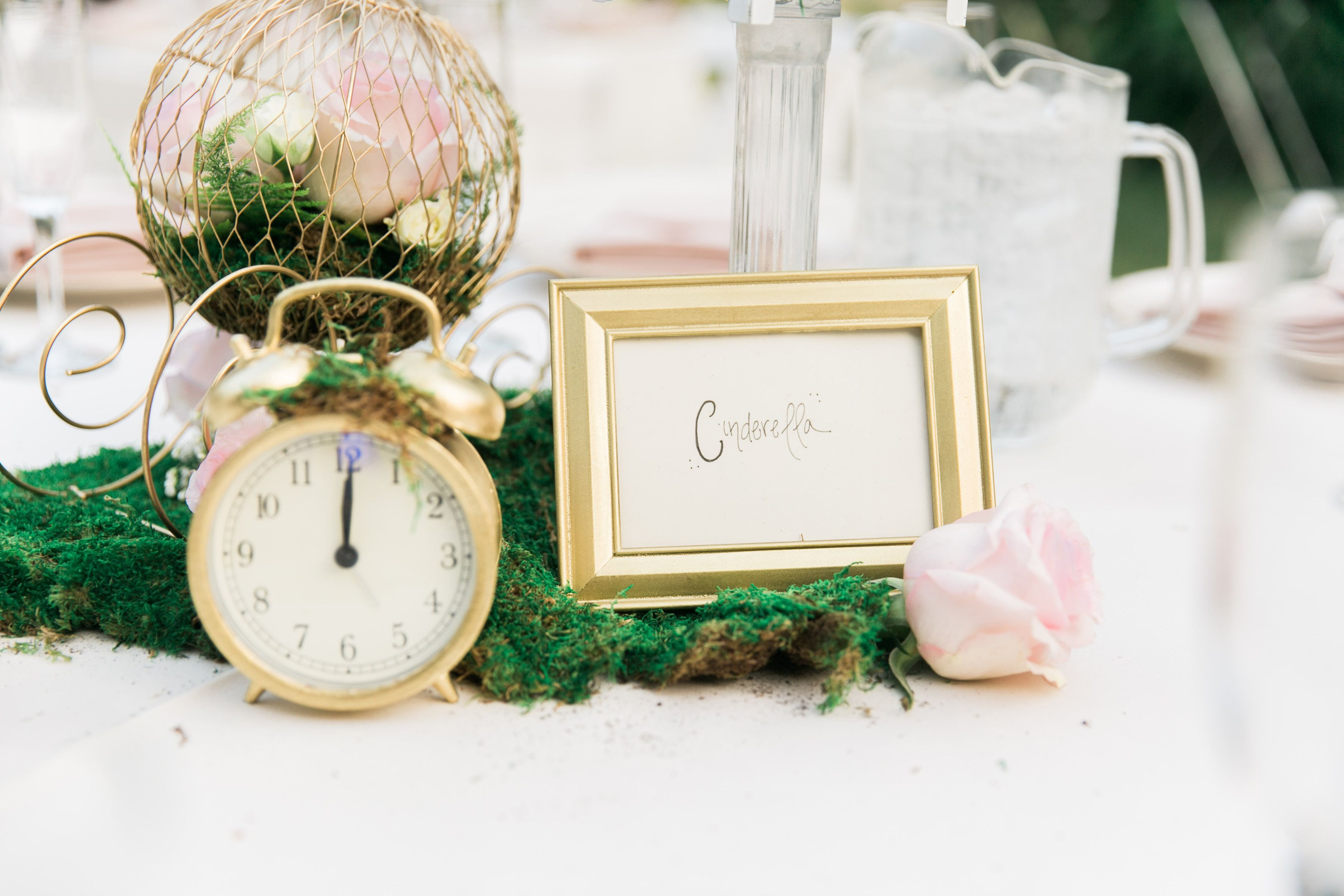 A different angle of our Disney Cinderella inspired wedding table ...