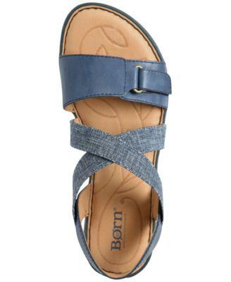 59f3ff1eb073 Born Women s Britton Flat Sandals - Black 10M