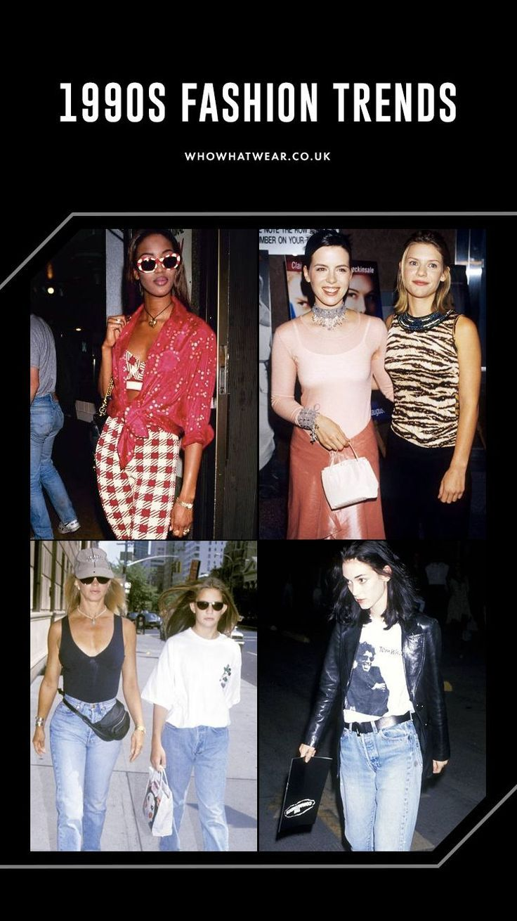 All of the '90s Fashion Trends That Have (and Haven't