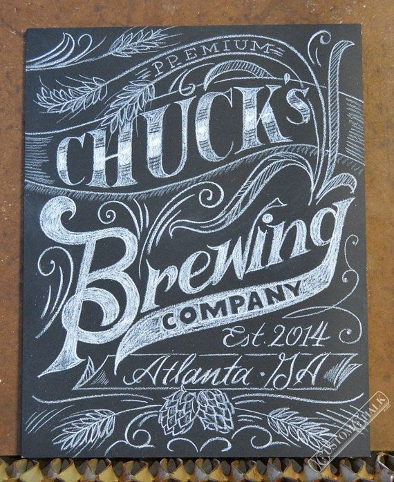 Love the use of hops and barley in this.