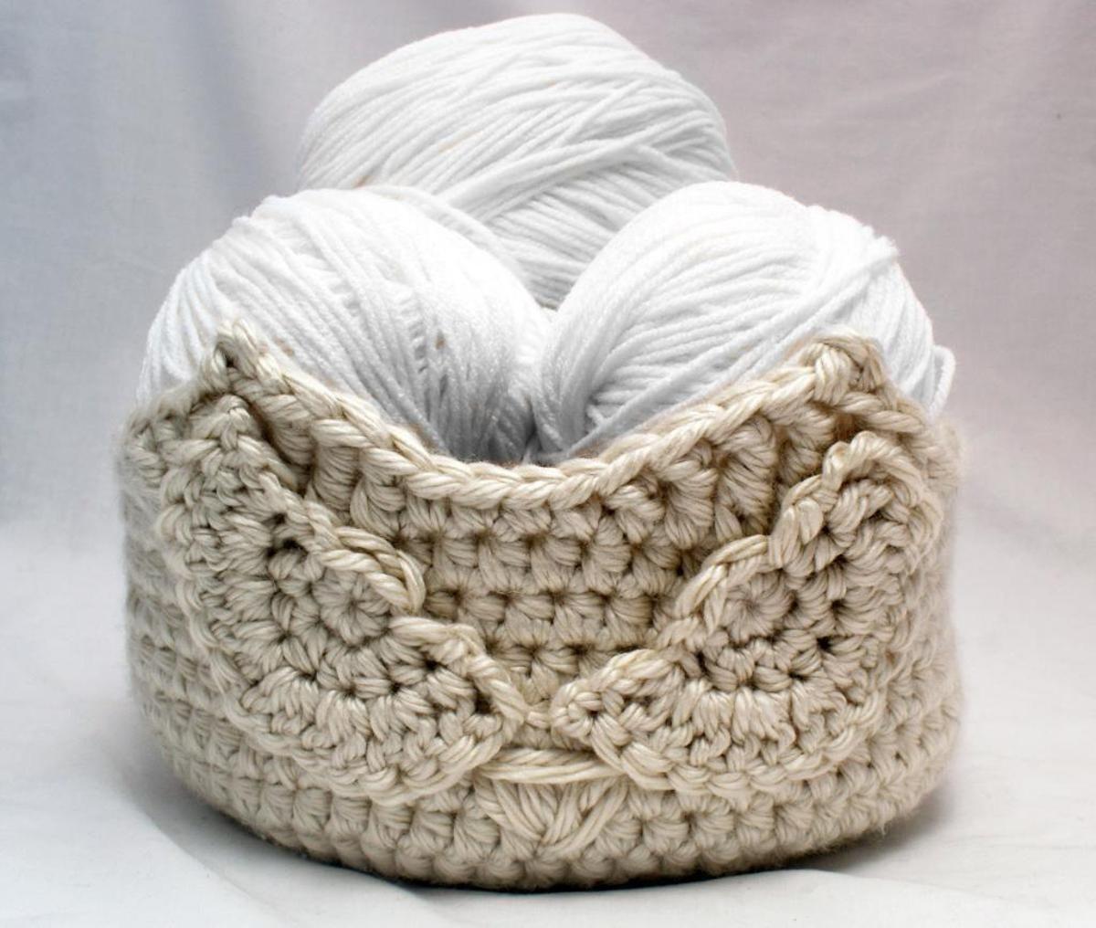 Owl Basket 2 Crochet Kit