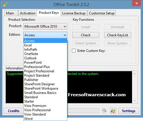 microsoft office 2013 product key list