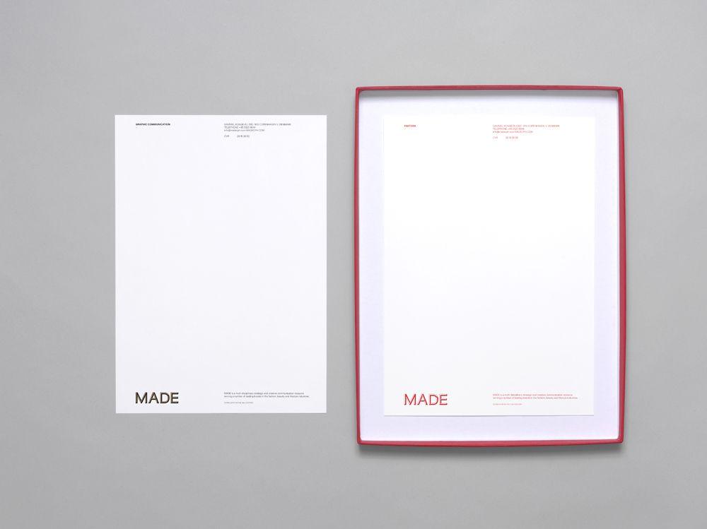 letterhead layout  / Brunswicker \u2013 Recent Projects Special