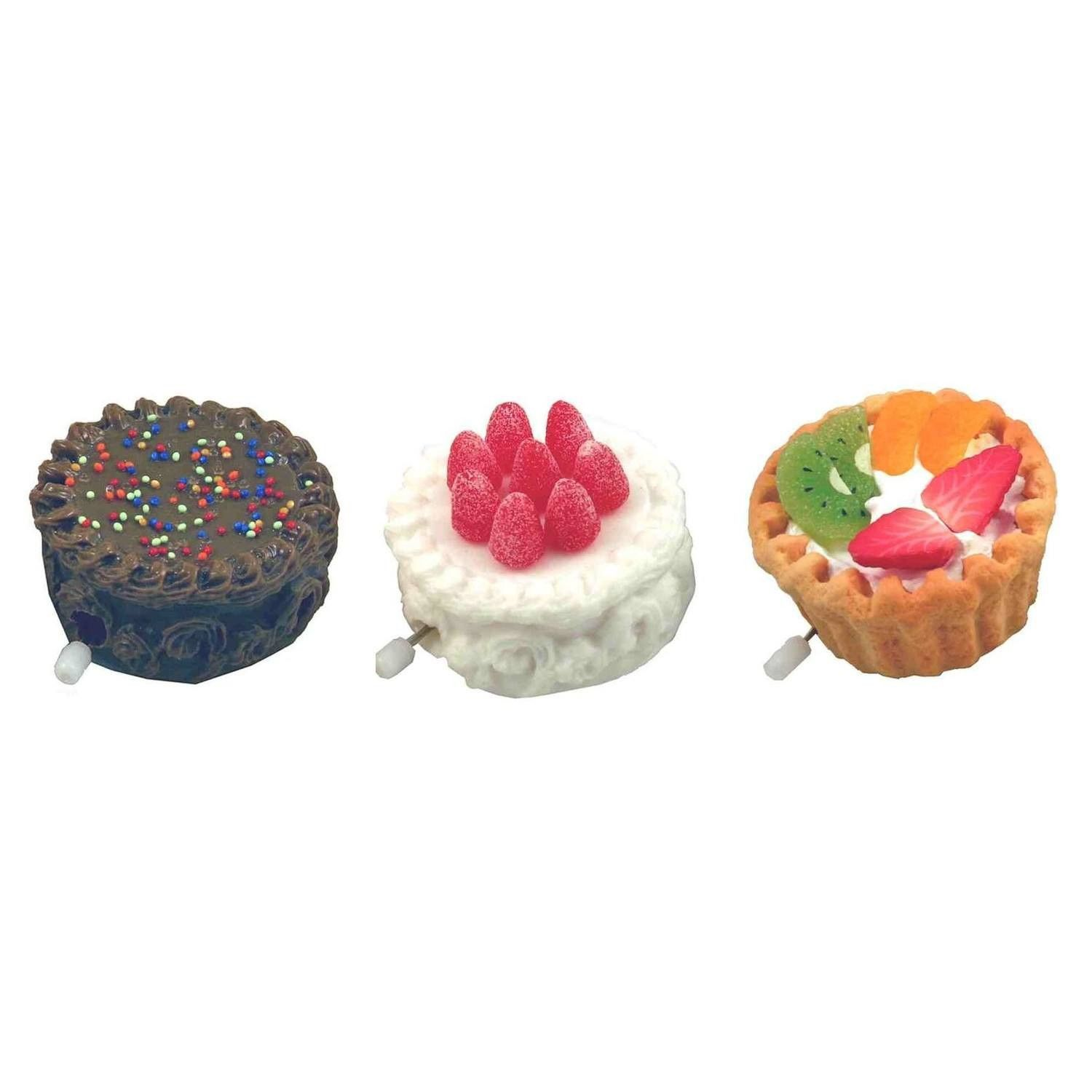 Runaway Cake Wind-Up Toy - Set of 3 - now only $6.00!  #UniqueGifts #karmakiss #allgiftythings #YouKnowYouWantIt #UnusualGifts